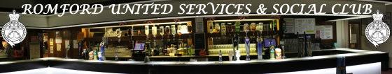 Link to portfolio - Romford United Services Club