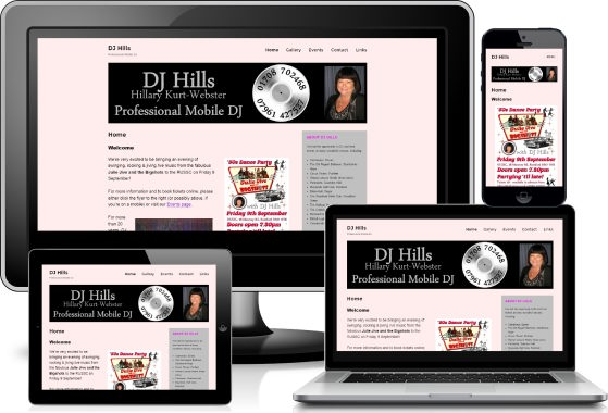 DJ Hills across devices